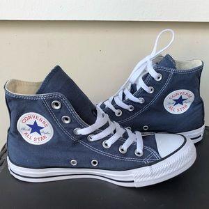 Converse CTAS Hi Top Navy Classic Sneakers M9622